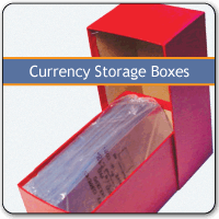 Currency Storage Boxes