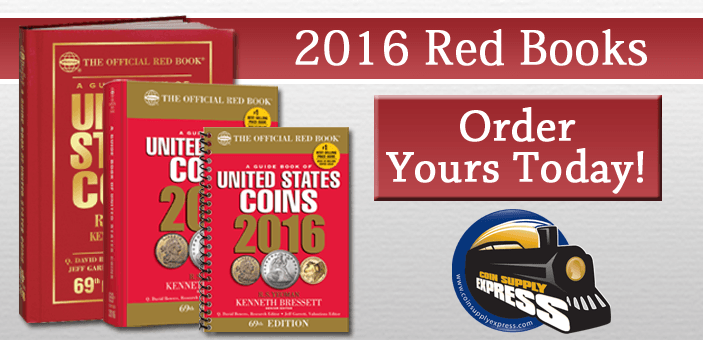 2016 Red Book Coin Collecting Values for Coin Collectors