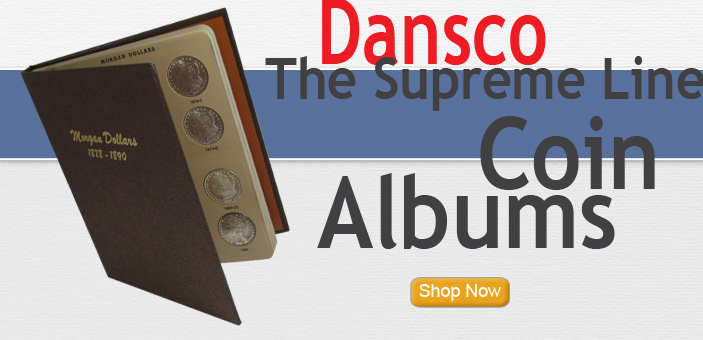 Dansco Coin Albums for coin collectors of all types