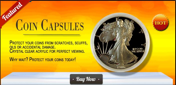 Coin Capsules All US Coin Denominations