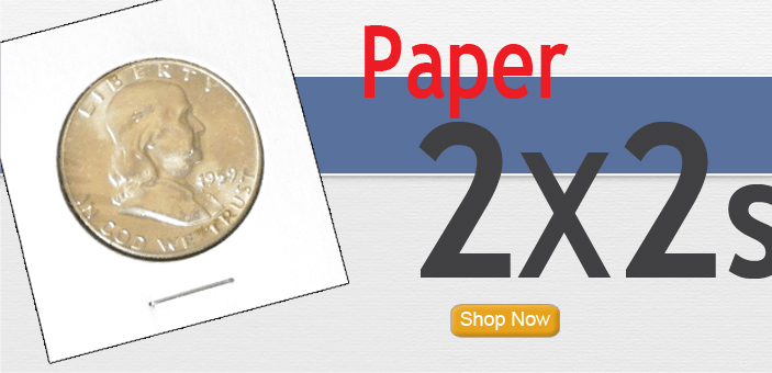 2x2 Staple Type Paper Coin Flips