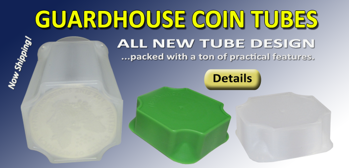 Guardhouse Coin Tubes