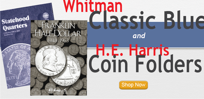 Whitman & HE Harris Coin Folders