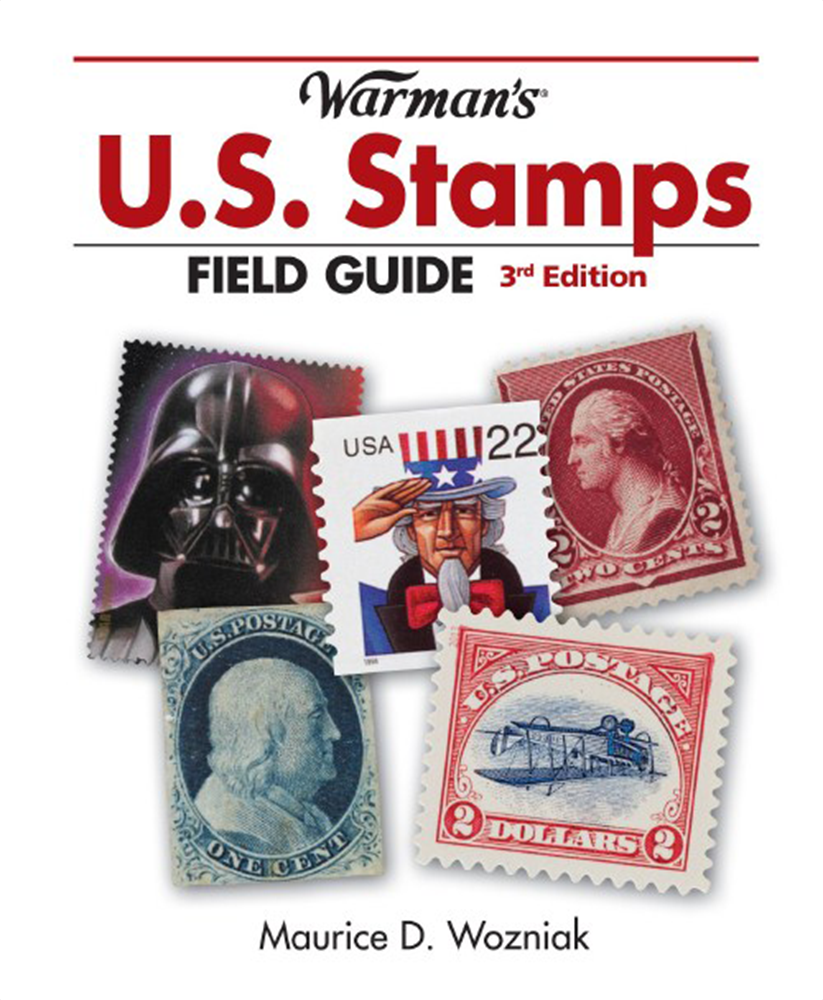 Warmans U.S. Stamps Field Guide 3rd Edition Warmans ,U.S. Stamps Field Guide, 3rd Edition, T3604