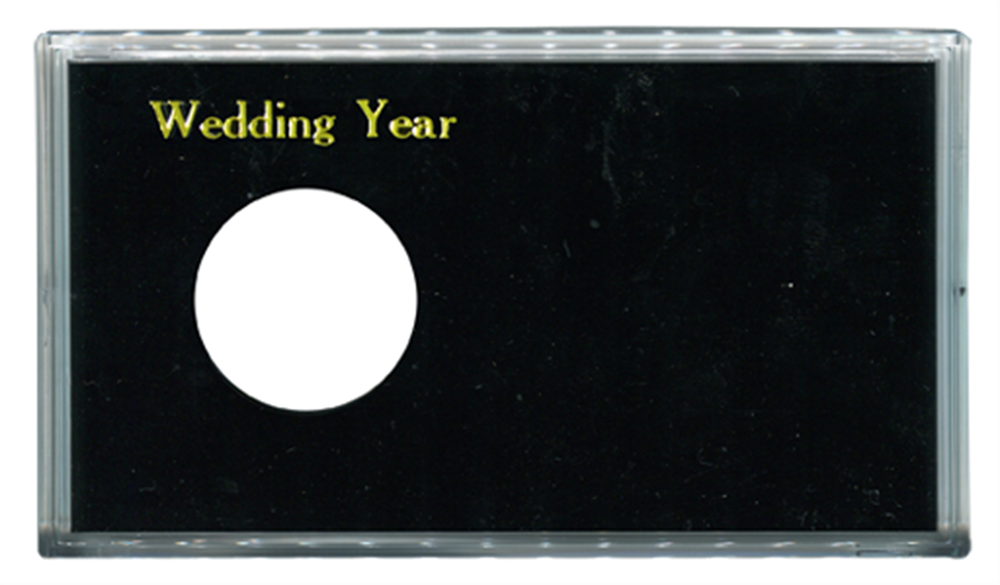 Wedding Year ASE Capital Plastics Coin Holder Black Meteor Wedding Year ASE Capital Plastics Coin Holder Black, Capital, MA32XWY