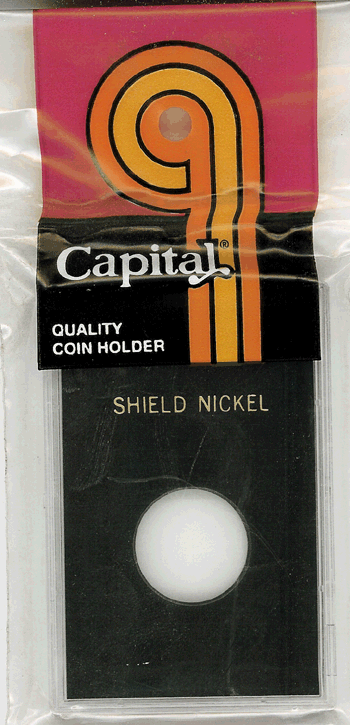 Shield Nickel Capital Plastics Coin Holder Caps Black 2x3 Shield Nickel Capital Plastics Coin Holder Caps Black, Capital, Caps