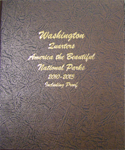 Dansco Album National Park Quarters P&D, S Proofs Vol 1