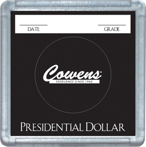 Presidential Dollar 2x2 Snaplock Coin Holder Bulk Box Presidential Dollar 2x2 Snaplock Coin Holder Bulk Box, HE Harris & Co, 0794823793