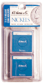 Nickel 2x2 Snaplock Coin Holder HE Harris Retail Pack 2x2 Nickel 2x2 Snaplock Coin Holder HE Harris Retail Pack, HE Harris & Co, 90921155