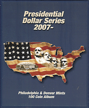 Presidential Dollar Supersafe Coin Album Series P&D Presidential Dollar Supersafe Coin Album Series P&D, Supersafe, PD100