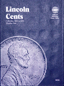 Whitman Coin Folder - Lincoln Cents 1941 - 1974