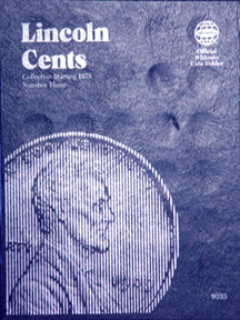 Whitman Coin Folder - Lincoln Cents 1975 to Present