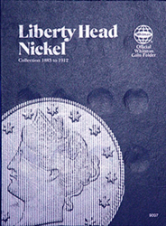 Whitman Liberty Head Nickel Coin Folder