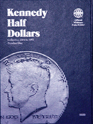 Whitman Kennedy Half Dollar #1 Coin Folder 6x7.75 Whitman Kennedy Half Dollar #1 Coin Folder, Whitman, 9699