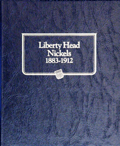 Liberty Head Nickels Whitman Coin Album Liberty Head Nickels Whitman Coin Album, Whitman, 9114