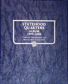 Statehood Quarters Whitman Coin Album P&D 7.5x9.5 - 22336