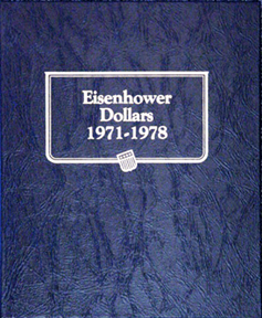 Eisenhower Dollars Whitman Coin Album Eisenhower Dollars Whitman Coin Album, Whitman, 9131