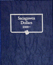 Sacagawea Dollars Whitman Coin Album Sacagawea Dollars Whitman Coin Album, Whitman, 1-582-3-8061-9