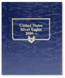 American Silver Eagles Whitman Coin Album Silver Eagles Whitman Coin Album, Whitman, 9157