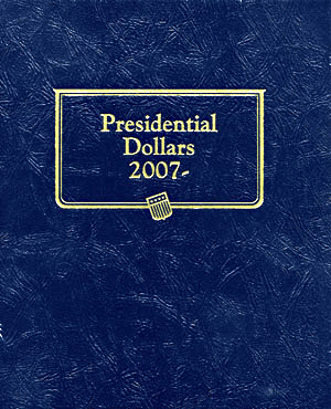 Presidential Dollar Whitman Coin Album 9x7.25 Presidential Dollar Whitman Coin Album, Whitman, 0794821839