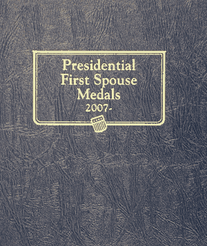 Presidential First Spouse Medals Whitman Coin Album Presidential First Spouse Medals, Whitman, 0794824773