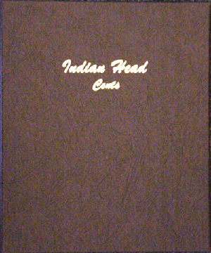 Indian Head Cents Dansco Coin Album Model 7101 Indian Head Cents Dansco Coin Album , Dansco, 7101