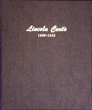 Lincoln Wheat Cents 1909-1958 Dansco Coin Album lincoln wheat cents dansco coin album 1909 1958