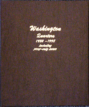 Washington Quarters with Proofs - Dansco Coin Album 8140 Washington Quarters w/ Proofs Dansco Coin Album , Dansco, 8140