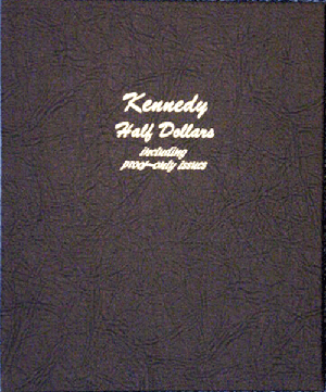 Kennedy Half Dollars w/ Proofs Dansco Coin Album 8166
