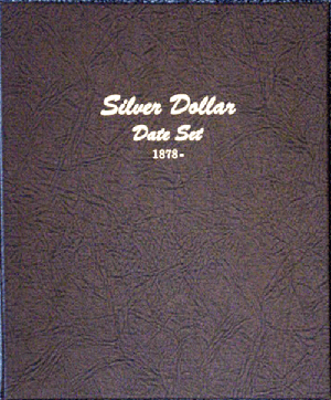 Silver Dollar - Dansco Coin Album 7172 Silver Dollar Single mint mark Dansco Coin Album , Dansco, 7172