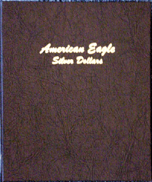 American Eagle Silver Dollars Dansco Coin Album model 7181