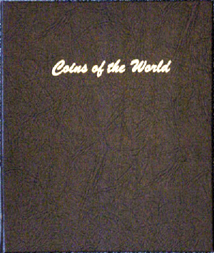 Coins of the World - Dansco Coin Album World 7011 dansco coin album, Coins of the World,  7011