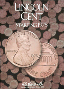 HE Harris Lincoln Cents 1975-2013 HE Harris Coin Folder HE Harris Lincoln Cents 1975-2000 HE Harris Coin Folder, HE Harris & Co, 2674