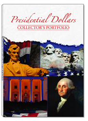 Presidential Dollars Collector%27s Portfolio 11.5x16 Presidential Dollars Collector%27s Portfolio, Whitman, 0794821723