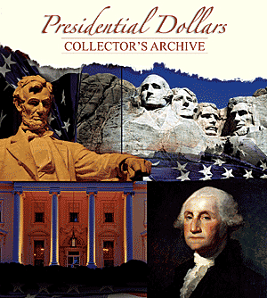 Presidential Dollar Collectors Archive 11.25 x 10 Presidential Dollar Collectors Archive, Whitman, 0794822185