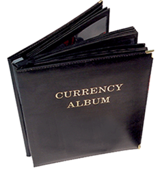 HE Harris Deluxe Large-Sized Currency Album HE Harris Large Deluxe Currency Album, HE Harris & Co, 8ANC2520
