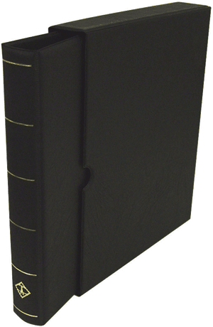 Vario Ring Binder and Slip Case - Black Vario Ring Binder and Slip Case - Black, Lighthouse, VARIOF - Black