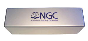 NGC Plastic Storage Box for NGC Certified Coins ngc, plastic storage box, certified coins, slab, pcgs
