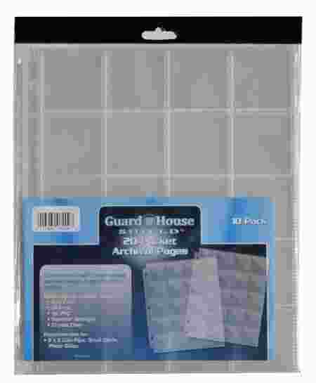 Guardhouse Polypropylene 20-Pocket Pages - 10 Pack