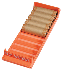 Quarter Extra Capacity Coin Roll Trays Quarter