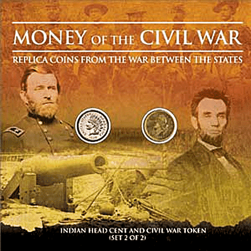Money of the Civil War - Indian Head Cent and Civil War Token, 1st Edition  ISBN:0794823556 Money of the Civil War - Indian Head Cent and Civil War Token, Whitman, 0794823556