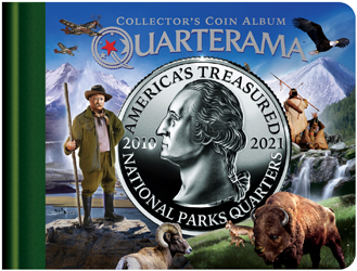 Quarterama National Parks Quarters Collectors Album