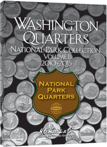 HE Harris National Park Quarter Coin Folder Folder Volume 1