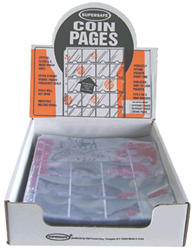 Supersafe 20 Pocket Pages - Box 100 20 Pocket Pages, Supersafe, NV20