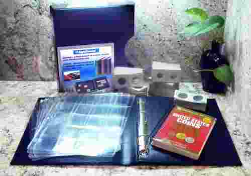 Archival Quality Coin Collecting Starter Set for 240 Coins