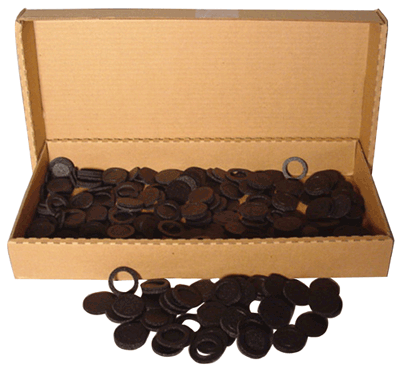 17mm Air Tite Black Ring Bulk Pack 17 mm 17mm Air Tite Black Ring Bulk Pack, Air Tite, Model A