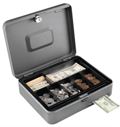MMF Anti-Theft Security Cash Slot Box