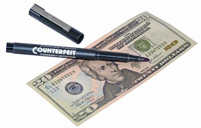 Counterfeit Currency Detection Pen