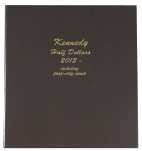 8167 Dansco Kennedy With Proofs 2012