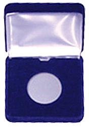 Velvet Coin Display Box for Air-Tite Model T Capsules
